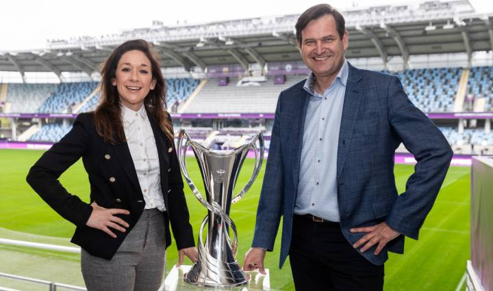 Imagen de Euronics, patrocinador del fútbol femenino de la UEFA