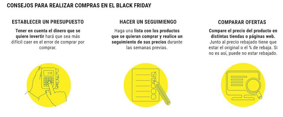 """Imagen de Artículo en Consumistas del diario El Mundo: """"¿Es más barato comprar en el Black Friday? Esto es lo que va a pasar de verdad con los precios"""""""